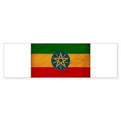 Ethiopia Flag Sticker (Bumper 50 pk)