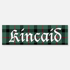 Tartan - Kincaid Bumper Bumper Sticker