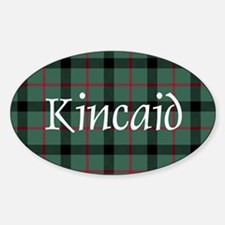 Tartan - Kincaid Sticker (Oval)