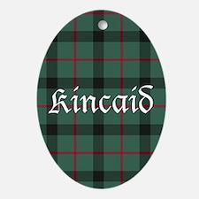Tartan - Kincaid Ornament (Oval)