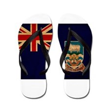 Falkland Islands Flag Flip Flops