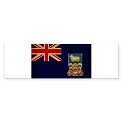 Falkland Islands Flag Bumper Sticker