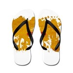 New Mexico Flag Flip Flops
