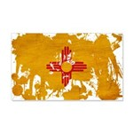New Mexico Flag 22x14 Wall Peel