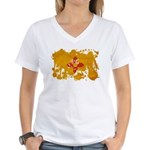 New Mexico Flag Women's V-Neck T-Shirt