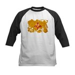 New Mexico Flag Kids Baseball Jersey