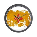 New Mexico Flag Wall Clock