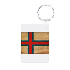 Faroe Islands Flag Keychains