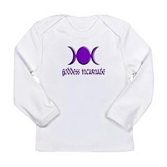 Goddess Incarnate Pl Long Sleeve Infant T-Shirt