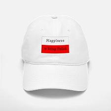 Happiness is Being Polish (#2) Baseball Baseball Cap