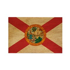 Florida Flag Rectangle Magnet (100 pack)