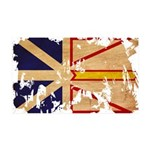 Newfoundland Flag 38.5 x 24.5 Wall Peel
