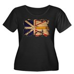 Newfoundland Flag Women's Plus Size Scoop Neck Dar