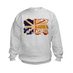 Newfoundland Flag Kids Sweatshirt