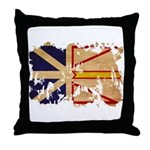 Newfoundland Flag Throw Pillow
