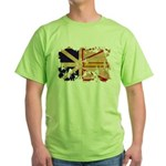 Newfoundland Flag Green T-Shirt