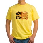 Newfoundland Flag Yellow T-Shirt