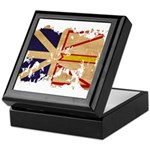 Newfoundland Flag Keepsake Box