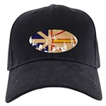 Newfoundland Flag Black Cap
