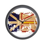 Newfoundland Flag Wall Clock