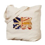 Newfoundland Flag Tote Bag