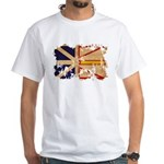 Newfoundland Flag White T-Shirt