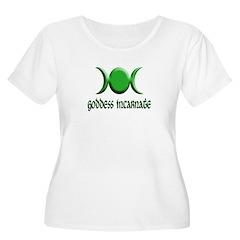 Goddess Incarnate Grn T-Shirt