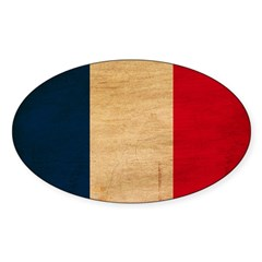 France Flag Decal