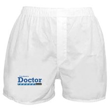 I'm almost a doctor Boxer Shorts