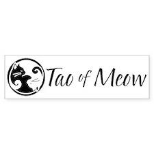 Yiin Yang Cats Bumper Bumper Sticker