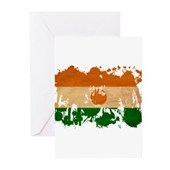 Niger Flag Greeting Cards (Pk of 10)