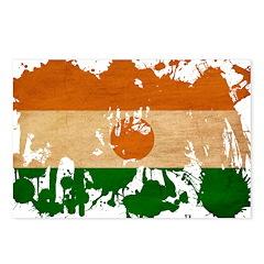 Niger Flag Postcards (Package of 8)