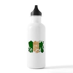 Nigeria Flag Water Bottle