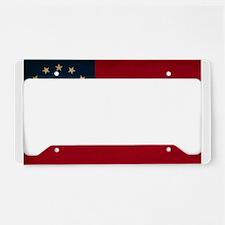 Georgia Flag License Plate Holder