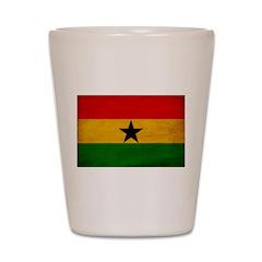 Ghana Flag Shot Glass