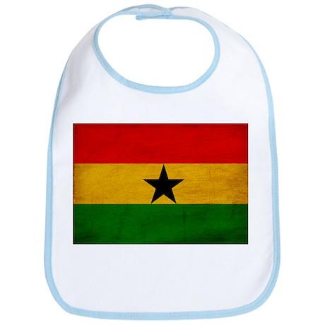 Ghana Flag Bib
