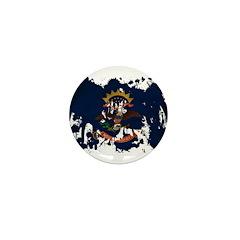 North Dakota Flag Mini Button (10 pack)