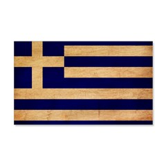 Greece Flag 22x14 Wall Peel