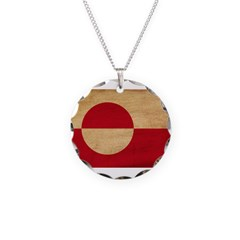 Greenland Flag Necklace