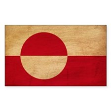 Greenland Flag Decal