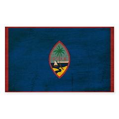 Guam Flag Decal