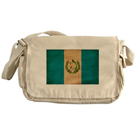 Guatemala Flag Messenger Bag