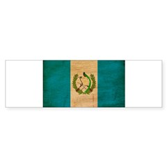 Guatemala Flag Bumper Sticker