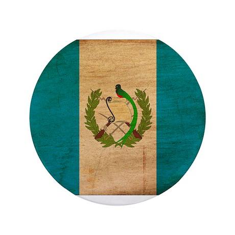 "Guatemala Flag 3.5"" Button"
