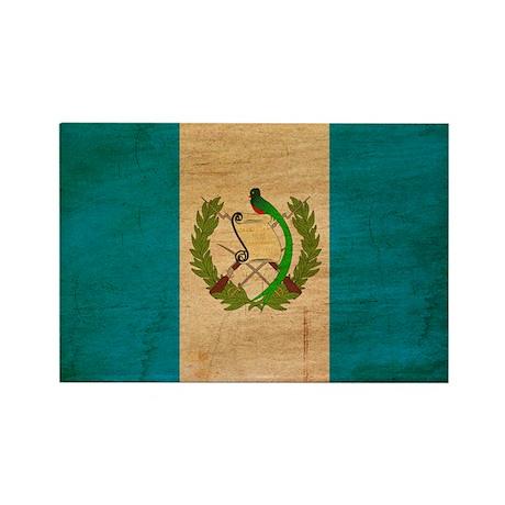 Guatemala Flag Rectangle Magnet (100 pack)