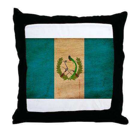 Guatemala Flag Throw Pillow