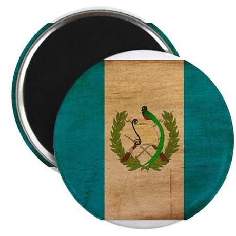 "Guatemala Flag 2.25"" Magnet (100 pack)"