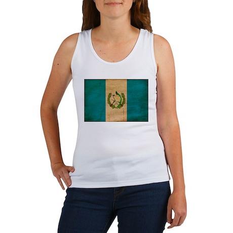 Guatemala Flag Women's Tank Top