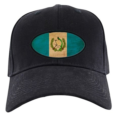 Guatemala Flag Black Cap