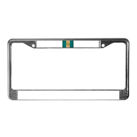 Guatemala Flag License Plate Frame